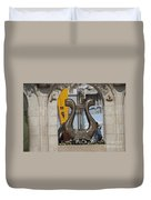 King David's Harp Duvet Cover