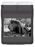 King Of Cats Duvet Cover