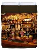 Kings Head Pub Kettlewell Duvet Cover