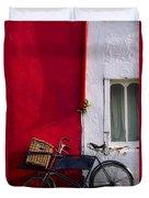 Kinsale, Co Cork, Ireland Bicycle Duvet Cover