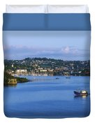 Kinsale, Co Cork, Ireland Boat With Duvet Cover