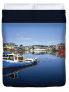 Kinsale, Co Cork, Ireland Boats In The Duvet Cover
