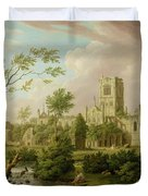 Kirkstall Abbey - Yorkshire Duvet Cover