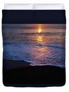 Kitty Hawk Beach At Sunset Duvet Cover