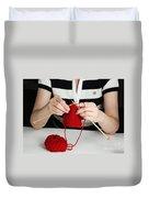 Knitting Duvet Cover