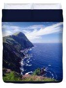 Knockmore Mountain, Clare Island Duvet Cover