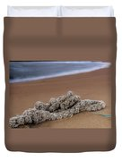 Knots On The Sand Duvet Cover