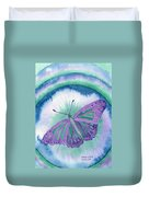 Knowingness Butterfly Duvet Cover
