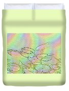 Koi Rainbow Duvet Cover