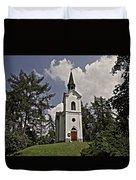 Kostel Panny Marie Lourdske Duvet Cover