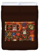 Koziar's Christmas Village Duvet Cover