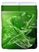 Krypton Lace Duvet Cover