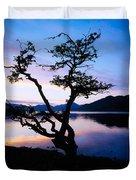 Kylemore Lake, Connemara, Co Galway Duvet Cover