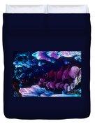 L. Histidine Crystals Duvet Cover by M. I. Walker