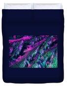 L. Tyrosine Crystals Duvet Cover