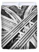 La Freeway Interchange Duvet Cover
