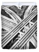 La Freeway Interchange Duvet Cover