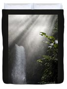 La Paz Waterfall Costa Rica Duvet Cover