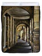 La Rochelle Sidewalk Duvet Cover