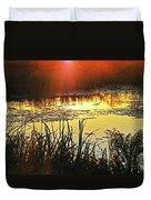Lacassine Sundown Duvet Cover