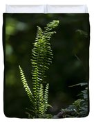 Lacy Wild Alabama Fern Duvet Cover