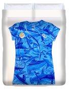 Ladies Gamefish Collage Shirt Duvet Cover