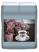 Ladies Tea Time Duvet Cover