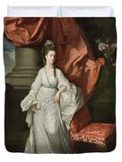 Lady Grant - Wife Of Sir James Grant Duvet Cover