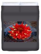Lady In Red II Duvet Cover
