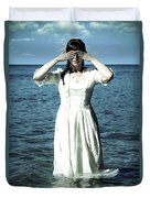 Lady In Water Duvet Cover