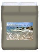 Laguna Beach Coast Duvet Cover
