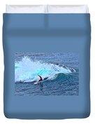 Laguna Surfer Duvet Cover