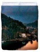 Lake Bled. Slovenia Duvet Cover