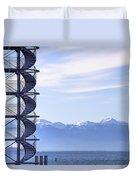 Lake Constance Friedrichshafen Duvet Cover