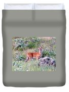 Lake Country Buck Duvet Cover