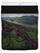 Lake District View From A Hillside Duvet Cover
