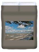 Lake Erie Storm 2371 Duvet Cover