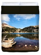 Lake Helen Reflections Duvet Cover