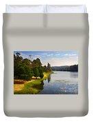 Lake Landscape Duvet Cover