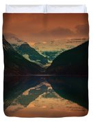 Lake Louise Abstract Duvet Cover