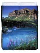 Lake Louise Banff Canada Duvet Cover