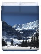 Lake Louise Glacier Duvet Cover