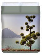 Lake Lugano - Monte Salvatore Duvet Cover