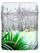 Lake Martin Swamp View Duvet Cover