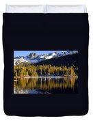 Lake Mary Golden Hour Duvet Cover