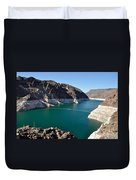 Lake Mead By Hoover Dam Duvet Cover