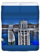 Lake Mead Hoover Dam Duvet Cover