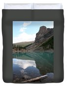 Moraine Lake - Lake Louise, Alberta Duvet Cover