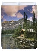 Lake Ohara Lodge Duvet Cover