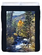Lake Sabrina Creek Duvet Cover